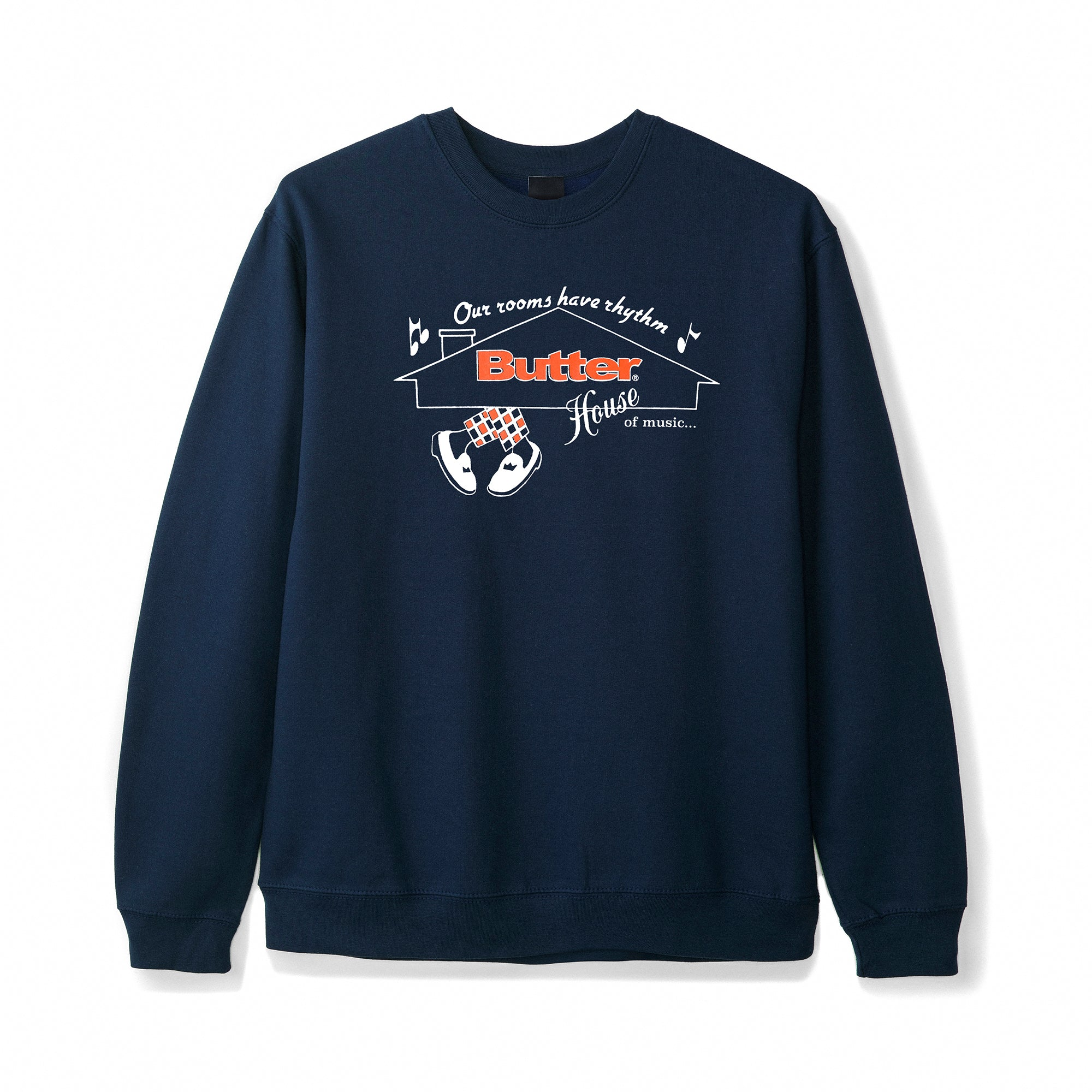 Butter Goods House of Music Crewneck Product Photo #1