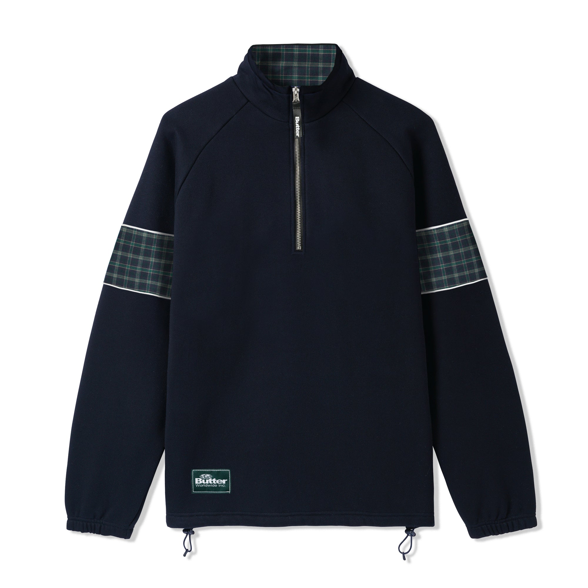Butter Goods Parks 1/4 Zip Pullover Product Photo #1