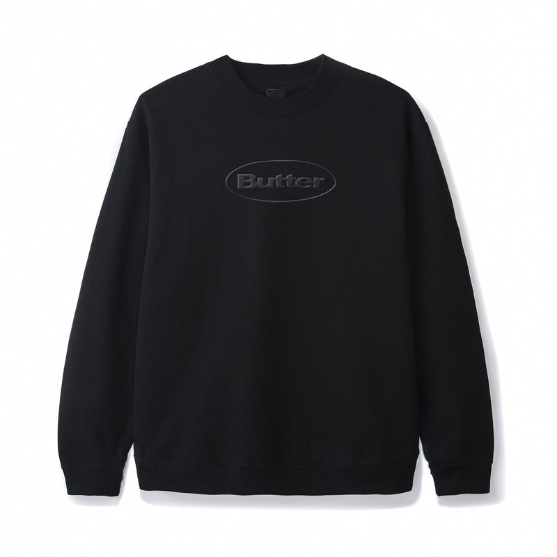 Butter Goods Badge Puff Logo Crewneck Product Photo