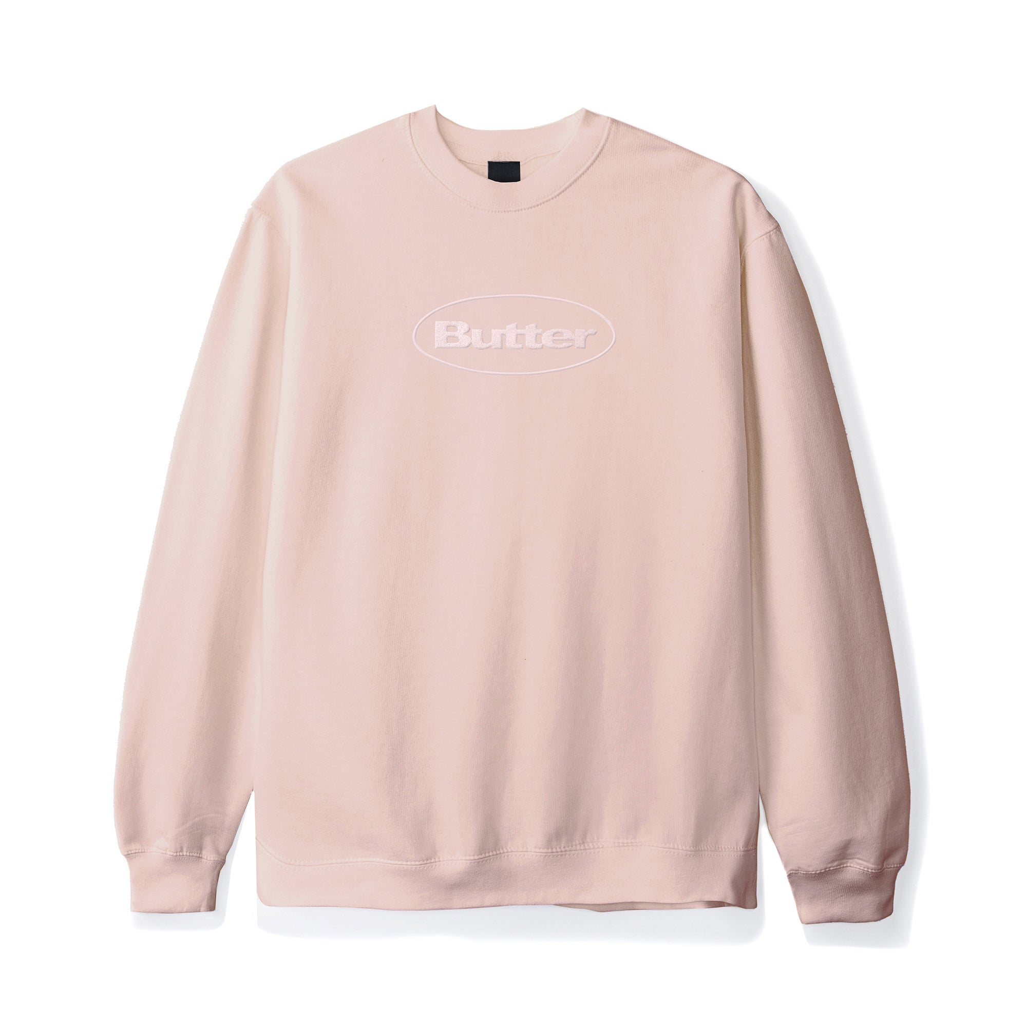 Butter Goods Badge Puff Logo Crewneck Product Photo #1