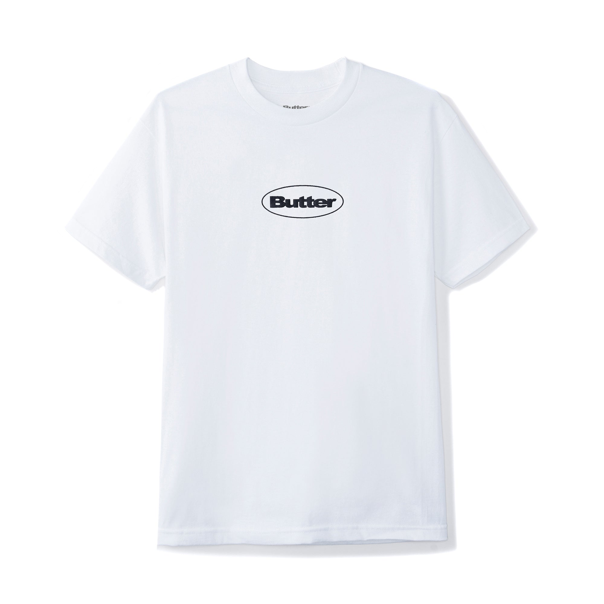 Butter Goods Puff Badge Logo Tee Product Photo #1