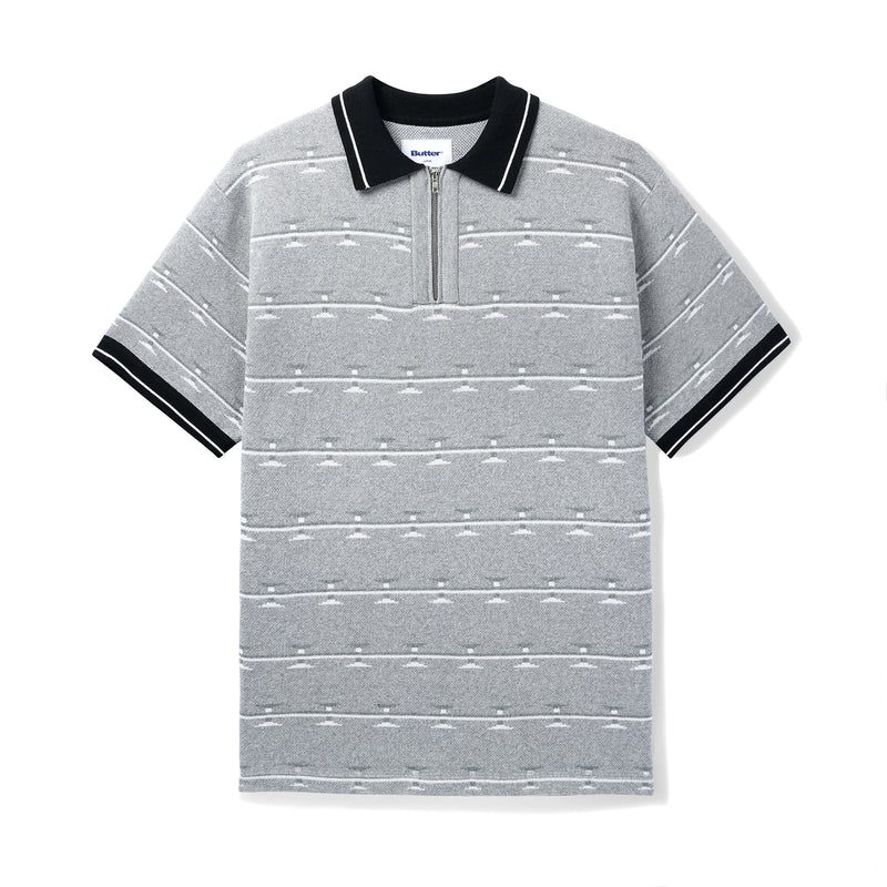 Butter Goods Razor Zip Polo Product Photo