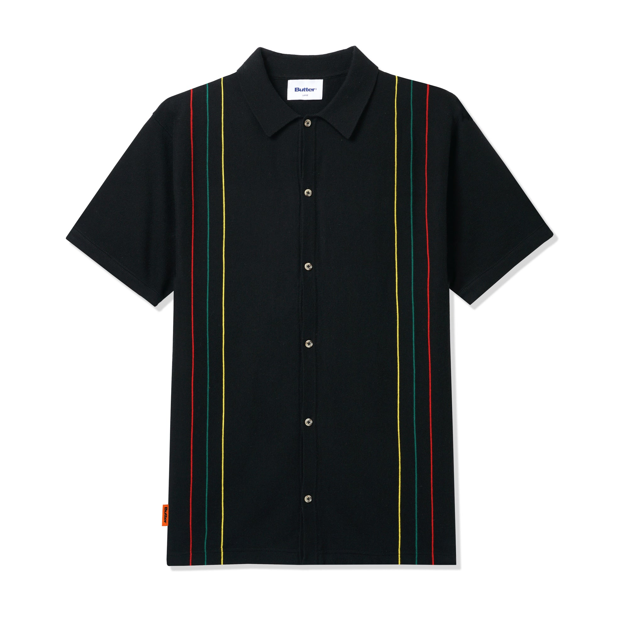 Butter Goods Stripe Knit Shirt Product Photo #1
