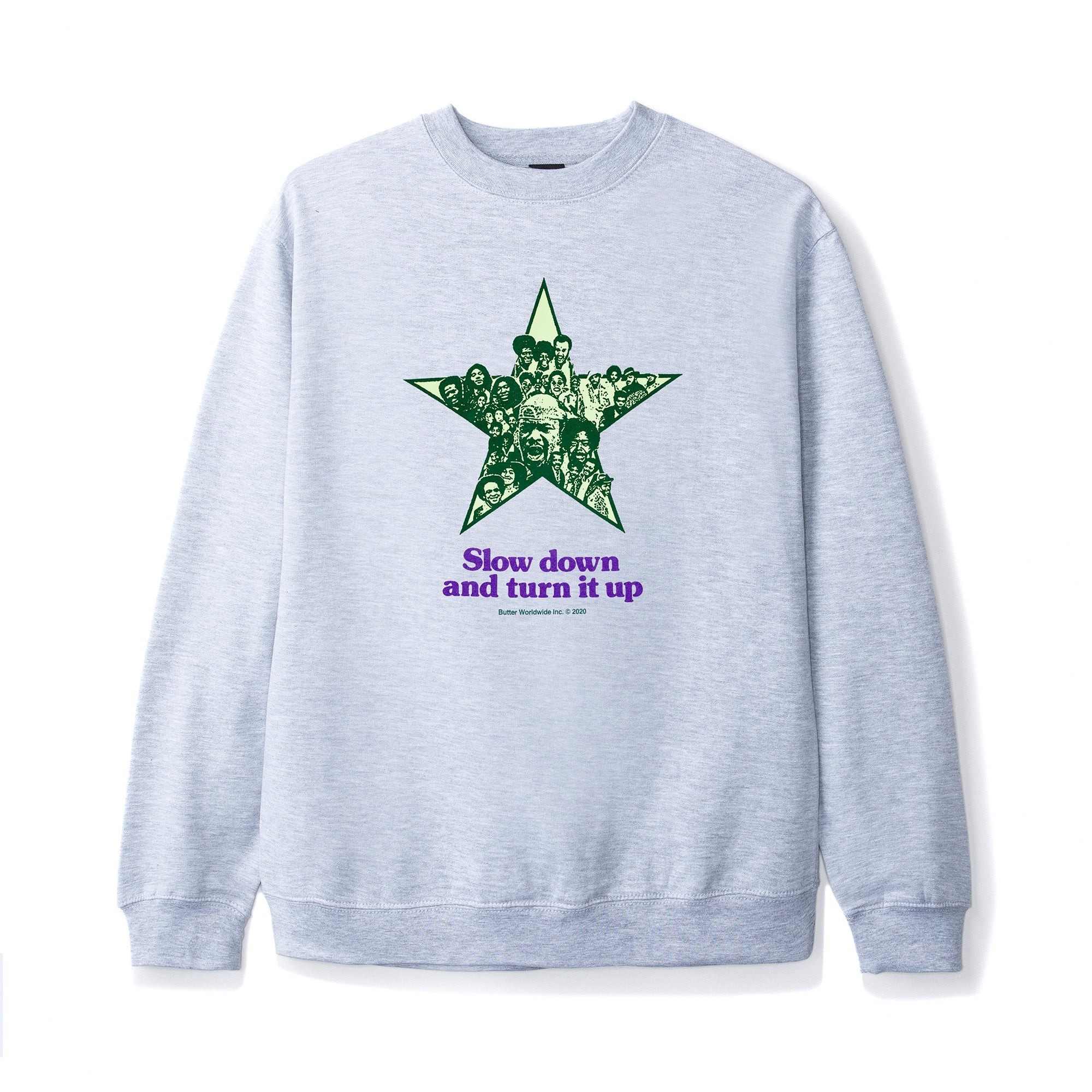 Butter Goods Turn It Up Crewneck Product Photo #1