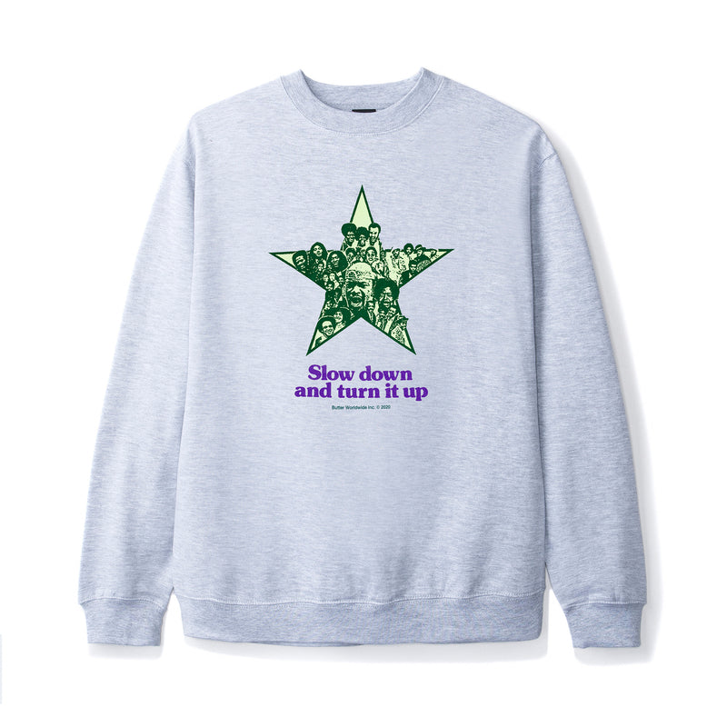 Butter Goods Turn It Up Crewneck Product Photo