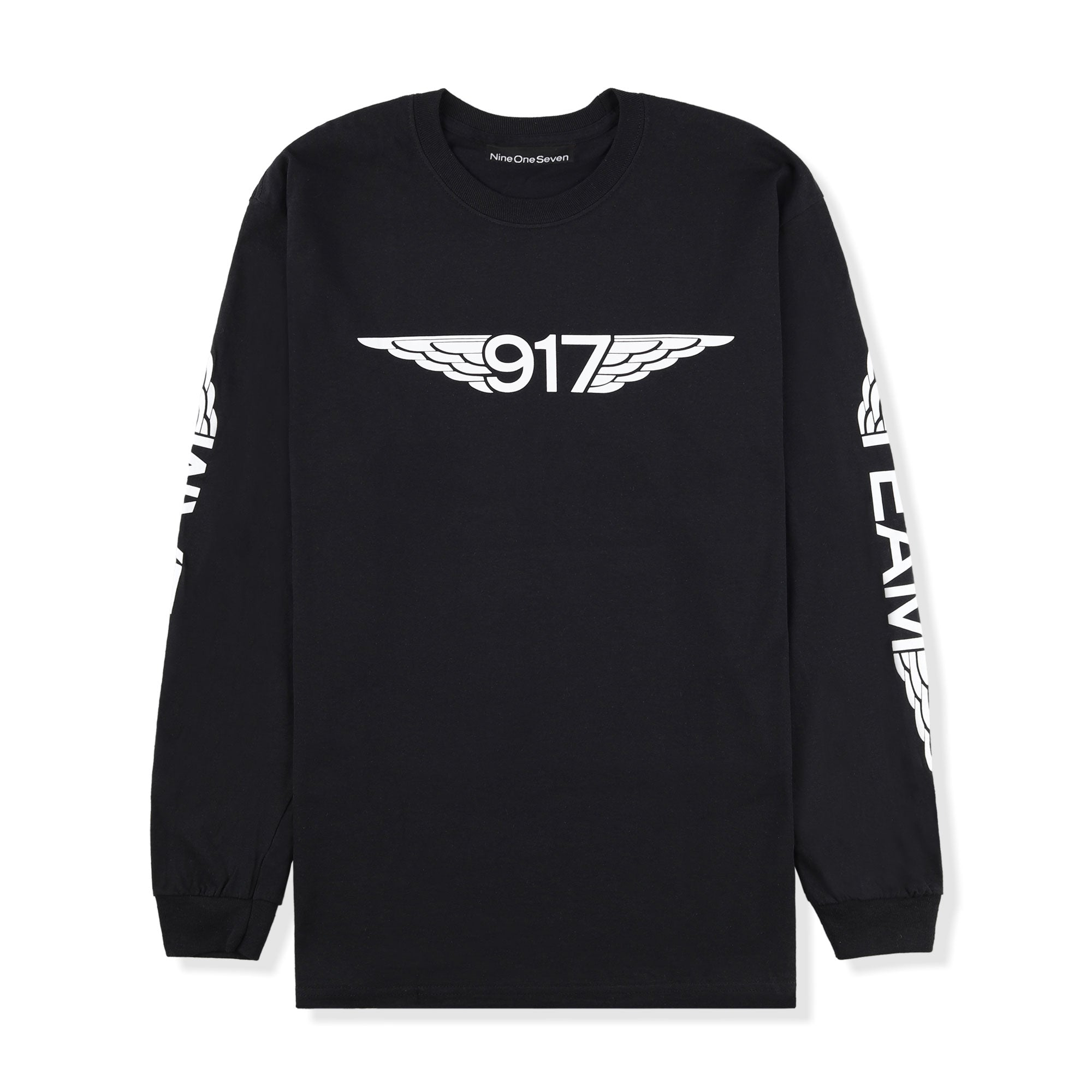 Call Me 917 Team Wings L/S Tee Product Photo #1