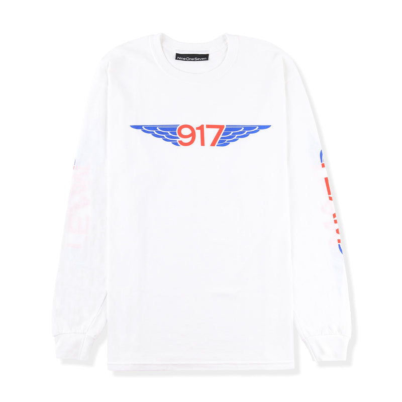 Call Me 917 Team Wings L/S Tee Product Photo