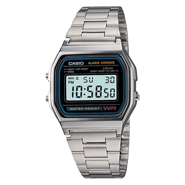 Casio Watch A158WA-1 Product Photo