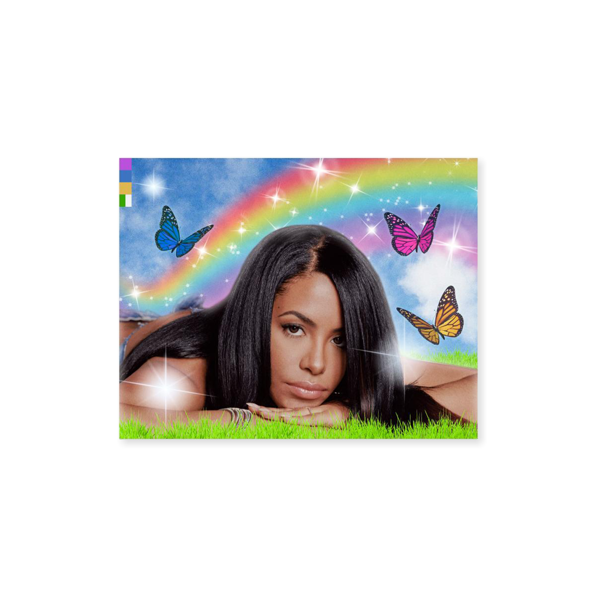 Color Bars Aaliyah Meadow Sticker Product Photo #1