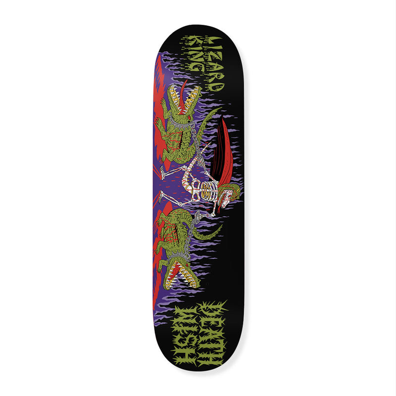 Deathwish Lizard King Revenge Of The Ninja Deck Product Photo