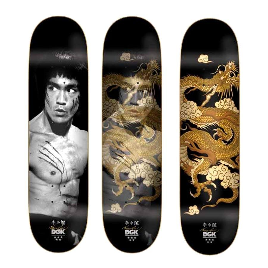 DGK Bruce Lee Golden Dragon Deck Product Photo #1