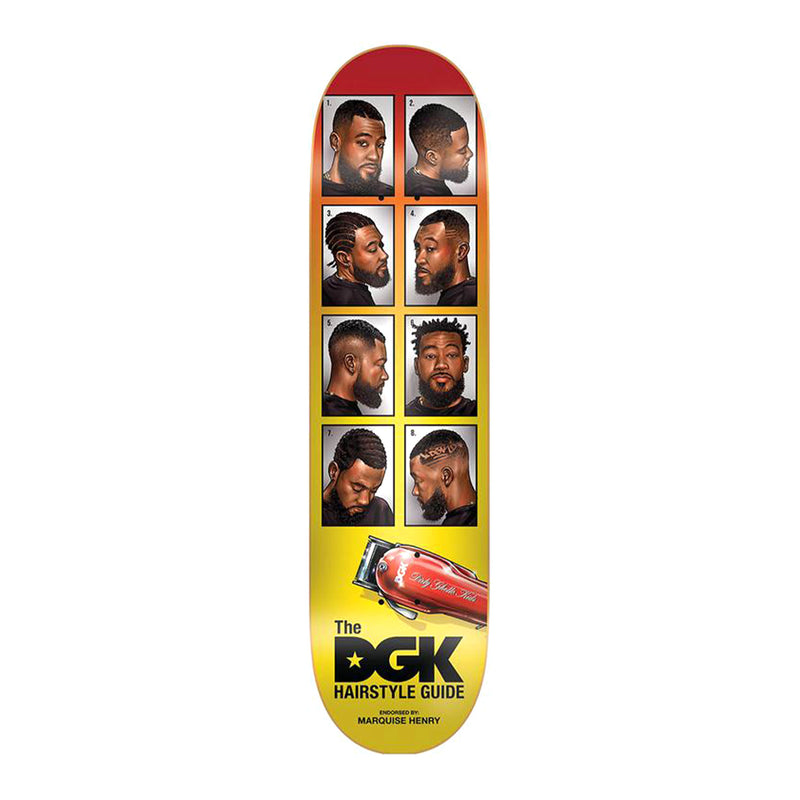 DGK Barbershop Quise Deck Product Photo