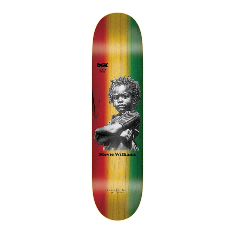 DGK X Heartman Williams Deck Product Photo