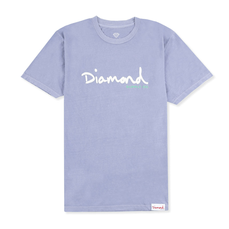 Diamond OG Script Overdye PP Tee Product Photo
