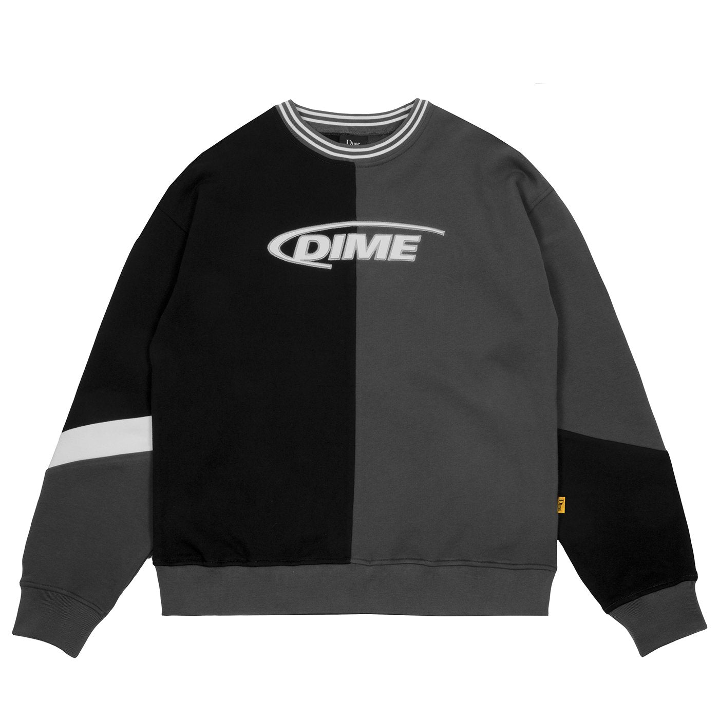 Dime French Terry Split Crewneck Product Photo #1
