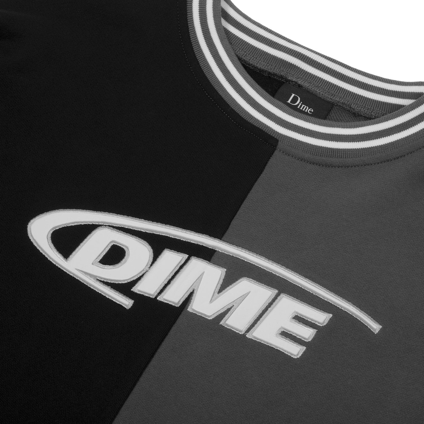 Dime French Terry Split Crewneck Product Photo #2