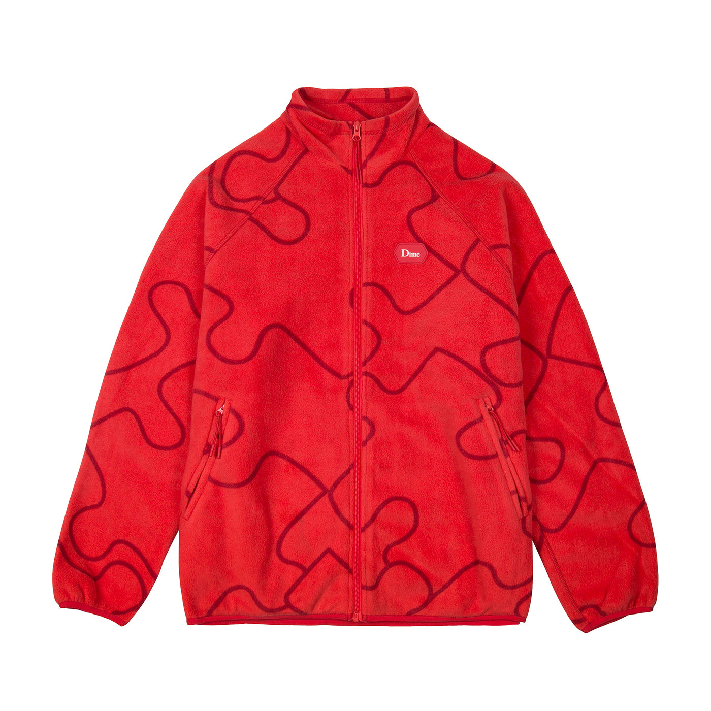 Dime Puzzle Polar Fleece Product Photo #1