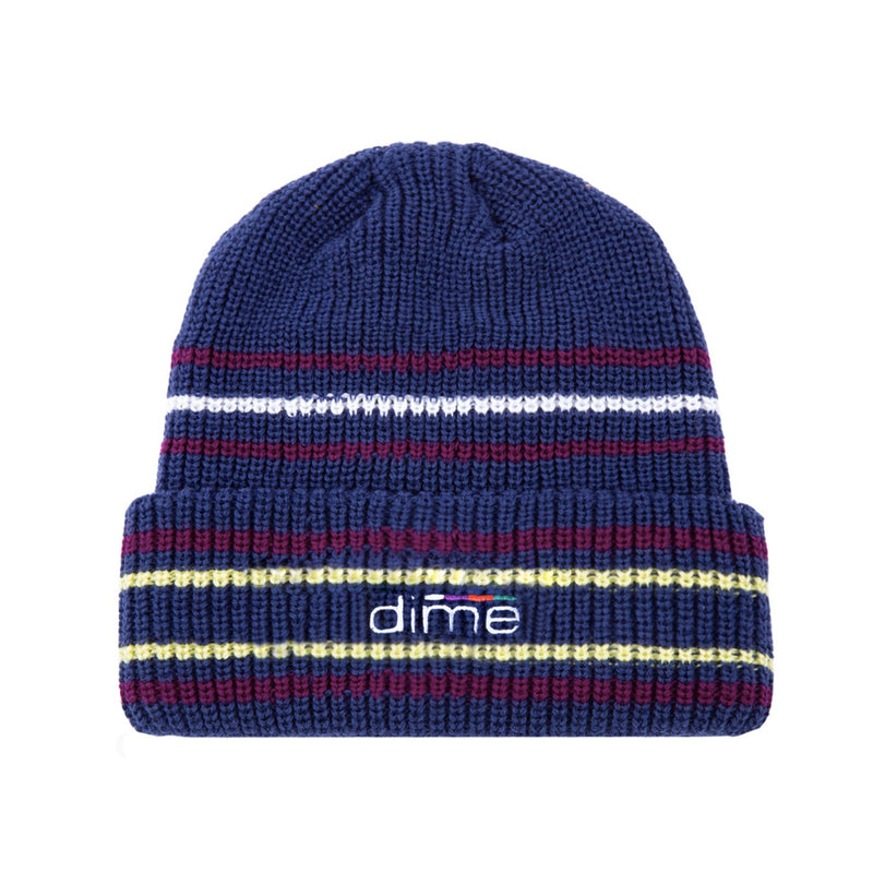 Dime Striped Beanie Product Photo