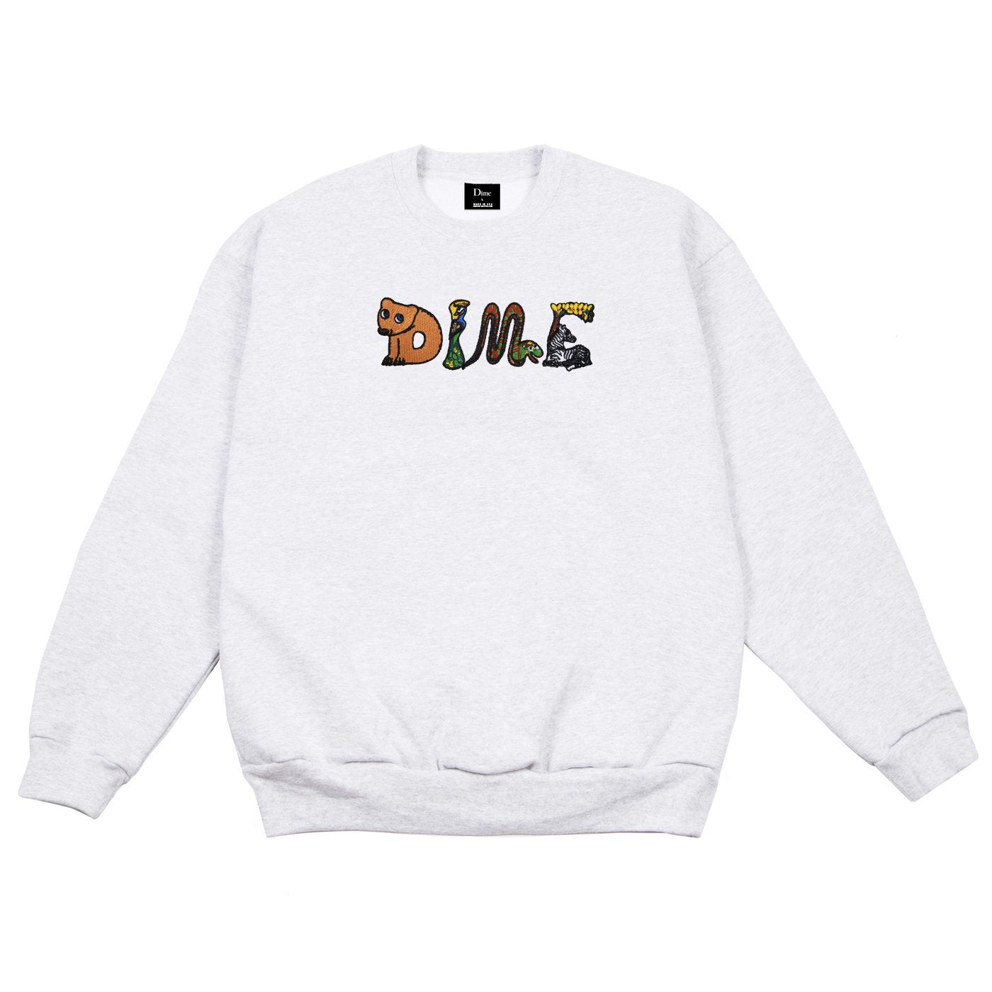 Dime Zoo Embroidered Crewneck Product Photo #1