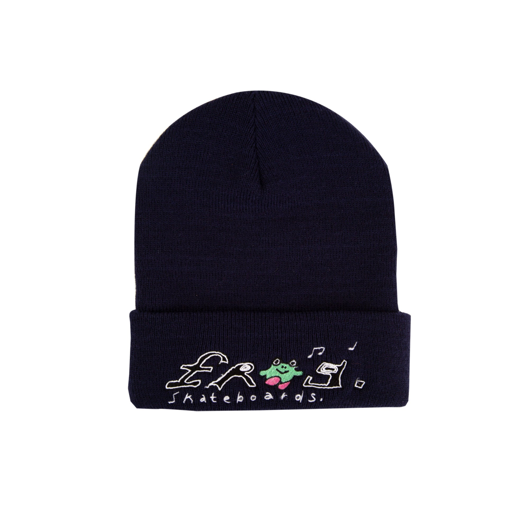 Frog Happy Dirty Beanie Product Photo #1