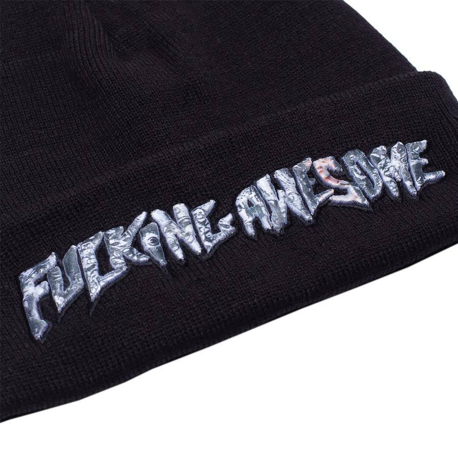 Fucking Awesome Actual Visual Guidance Beanie Product Photo #2