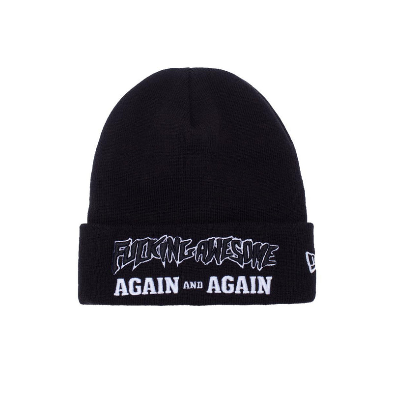 Fucking Awesome Again And Again New Era Beanie Product Photo