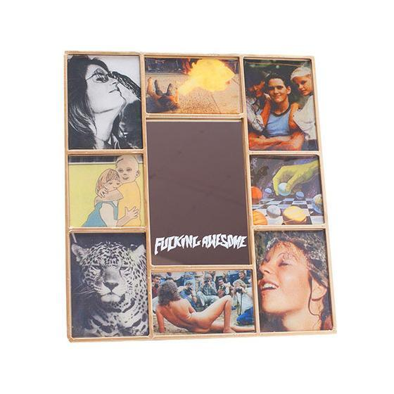 Fucking Awesome Collage Mirror Product Photo