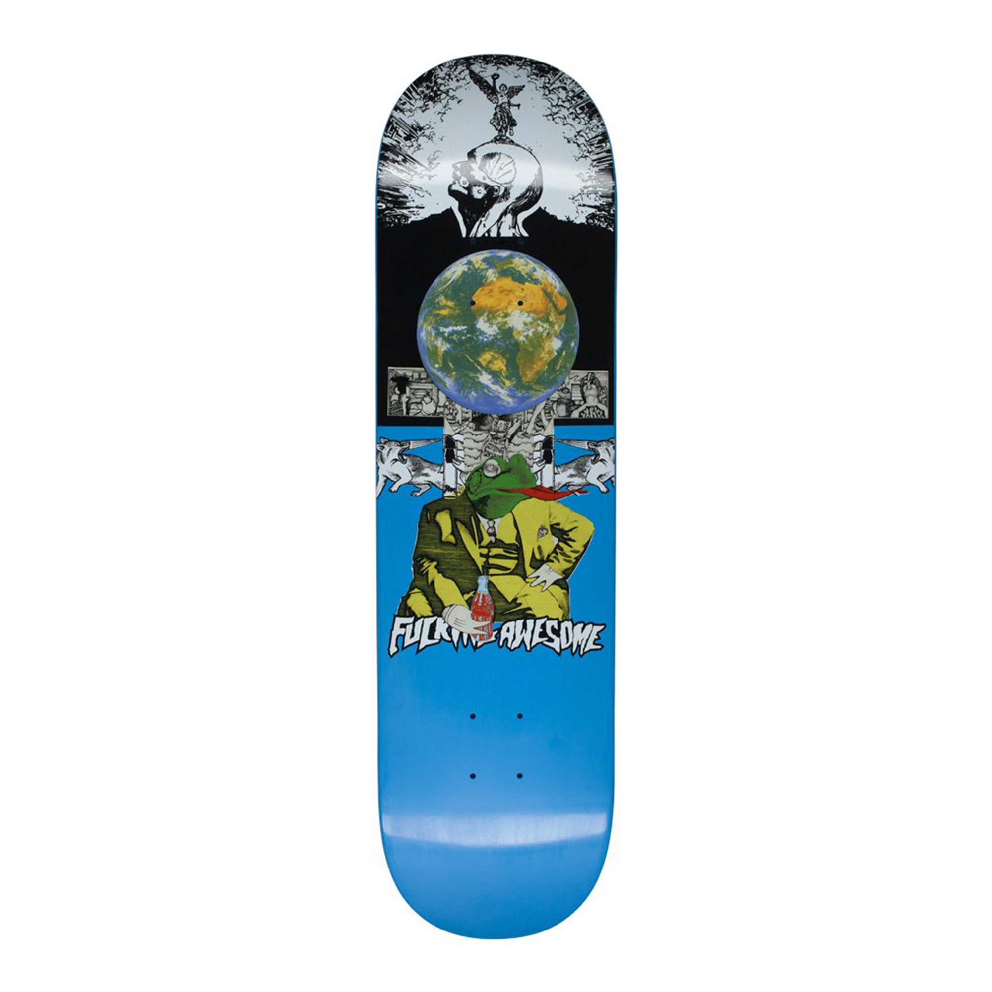 Fucking Awesome Frogman Dipped Deck Product Photo #1