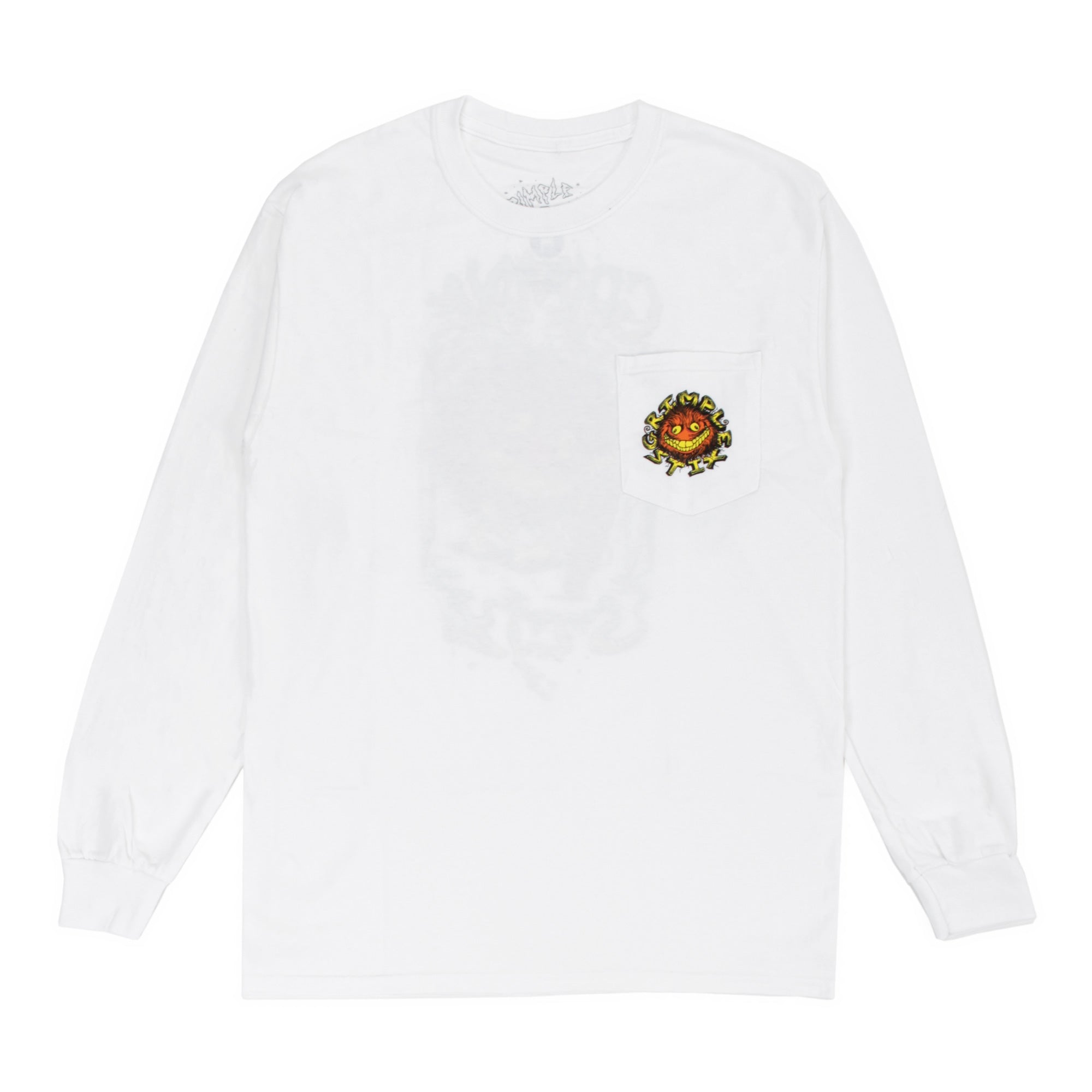 Anti-Hero Grimple Stix Key L/S Tee Product Photo #2