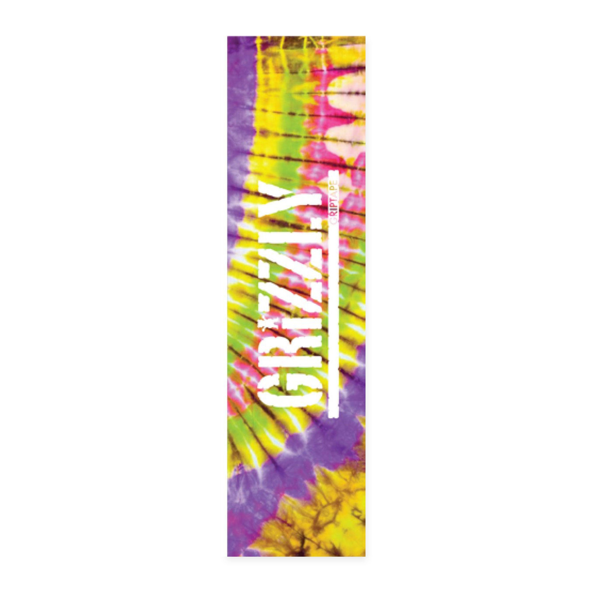 Grizzly Tie Dye Green Griptape Product Photo #1