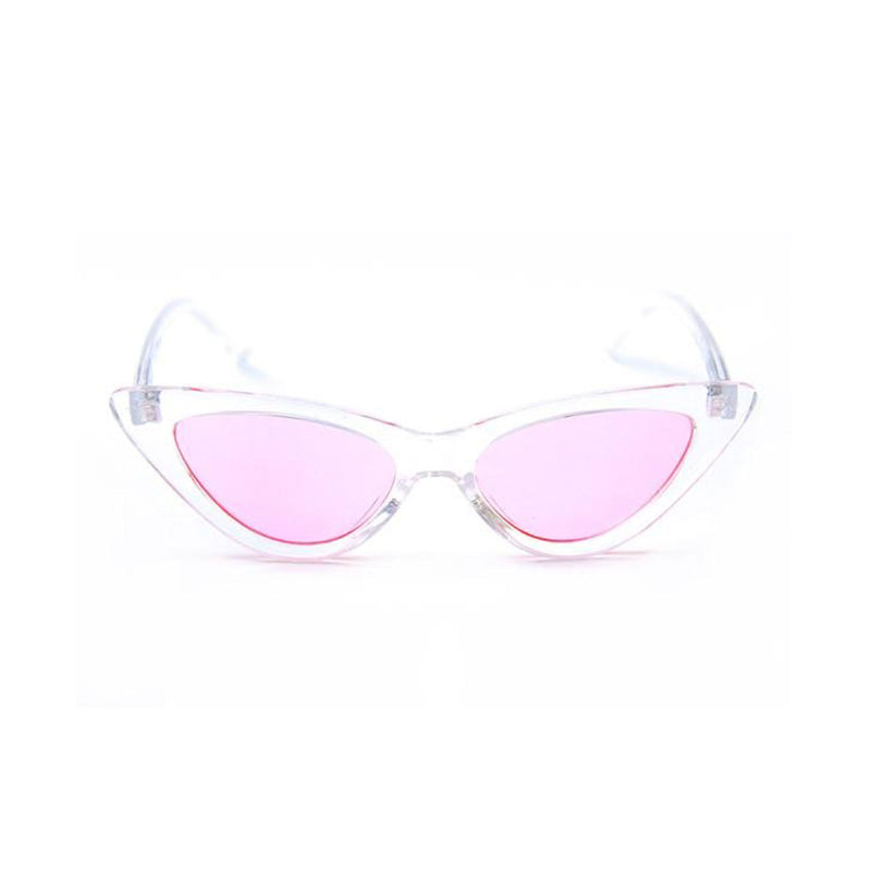 Happy Hour Space Needle Sunglasses - Clear Pink Product Photo