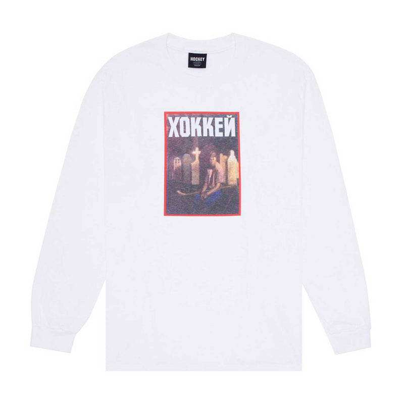 Hockey Nik Stain Longsleeve Tee Product Photo