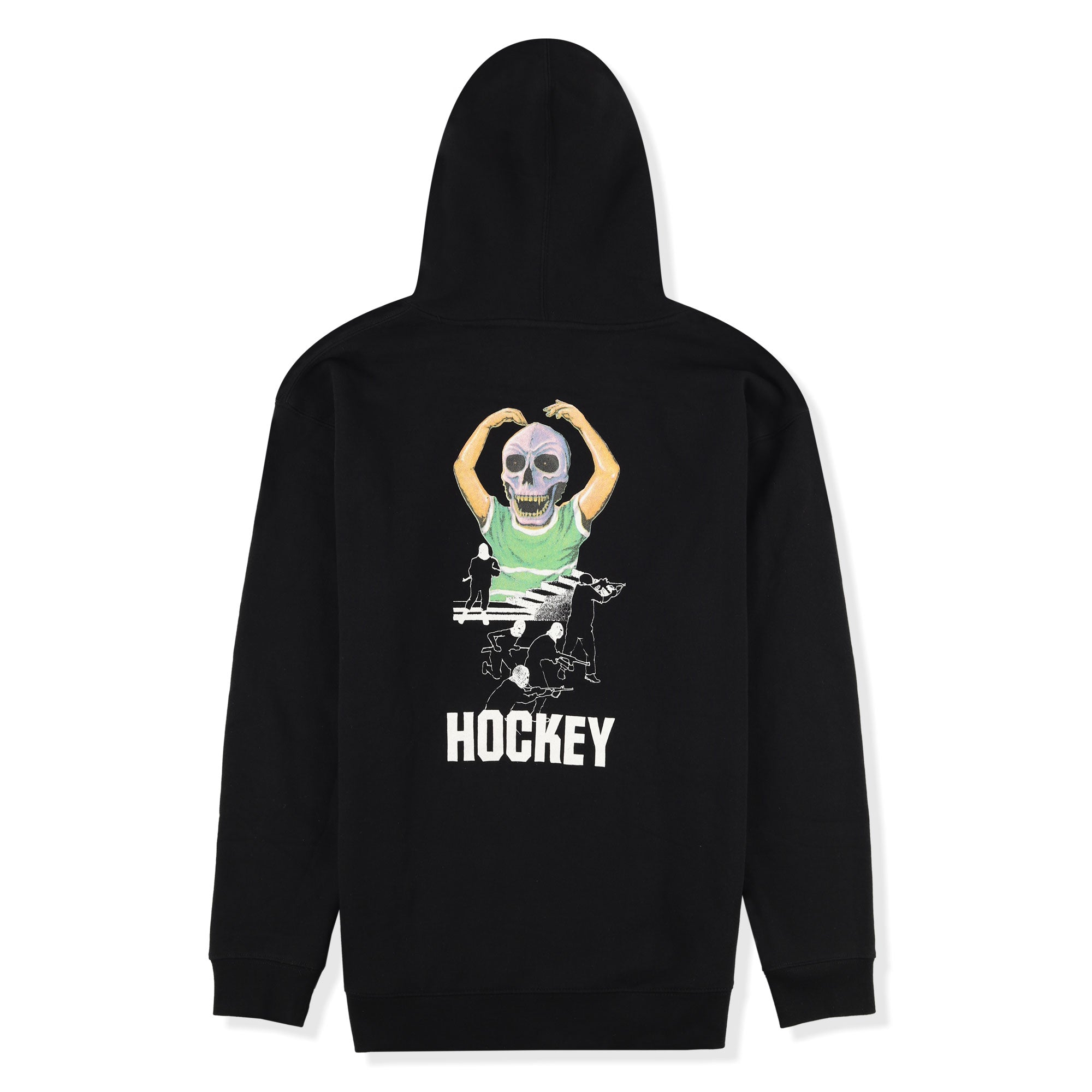 Hockey Skull Kid Hood Product Photo #1