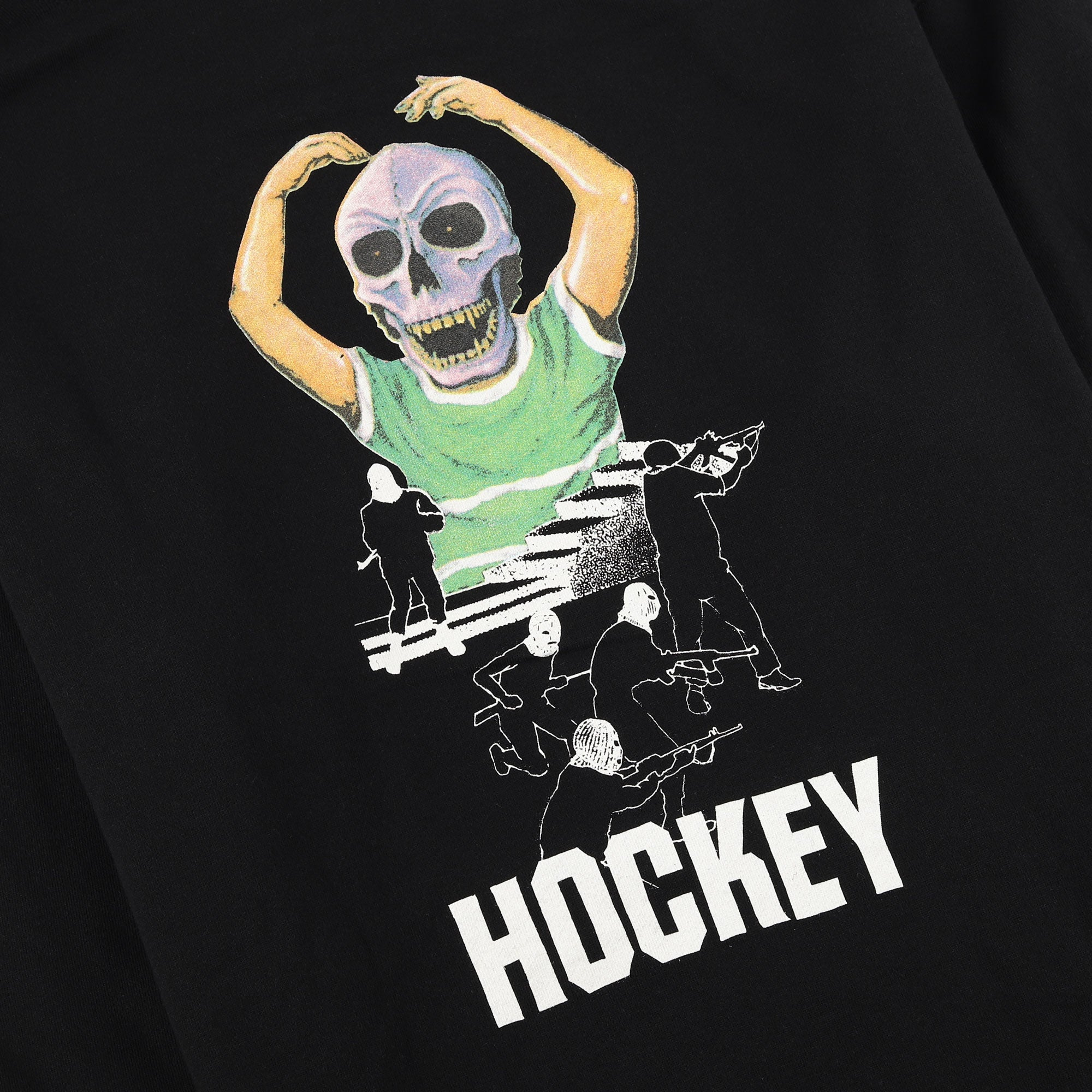 Hockey Skull Kid Hood Product Photo #3