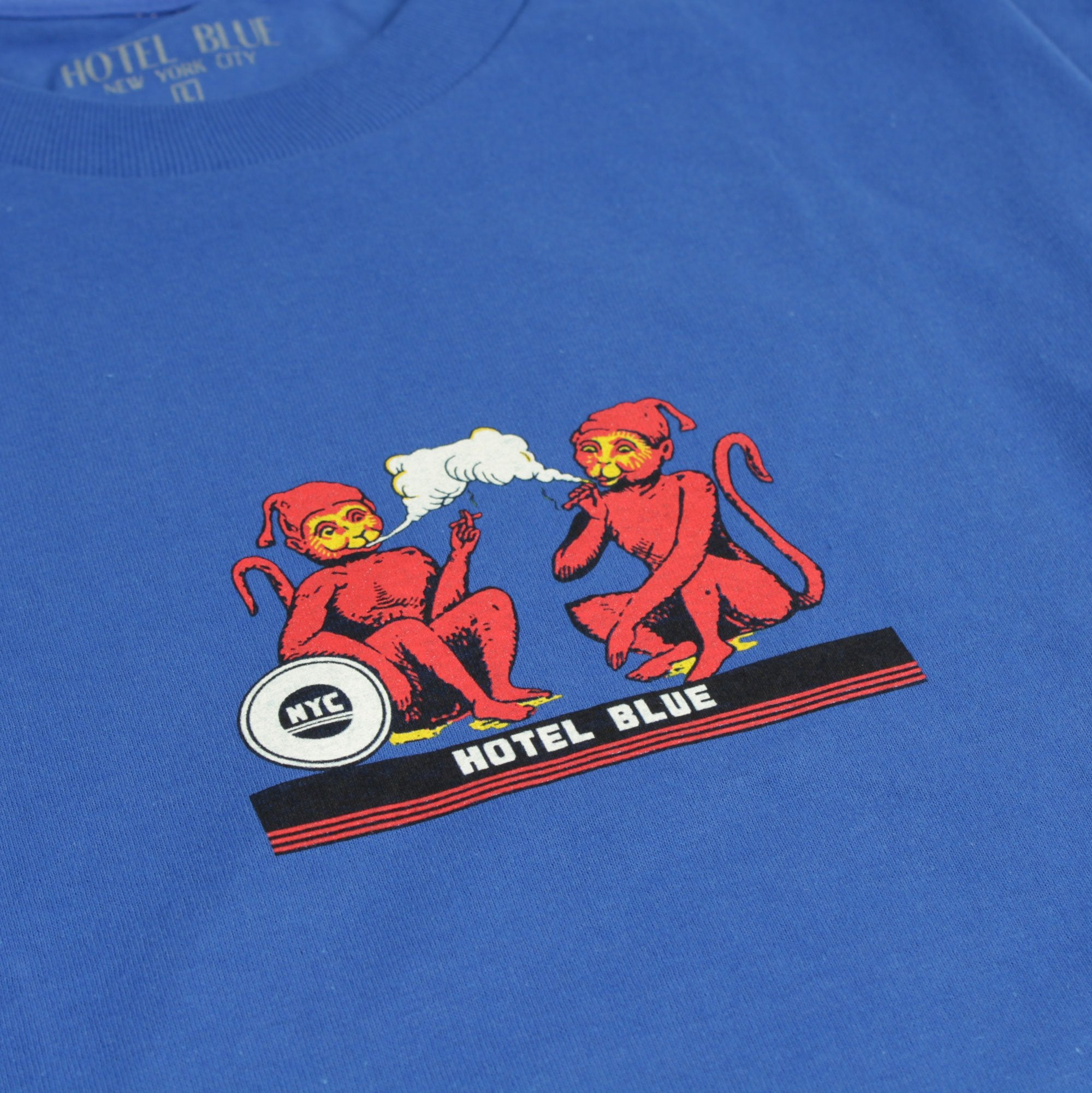 Hotel Blue Monkey Tee Product Photo #2