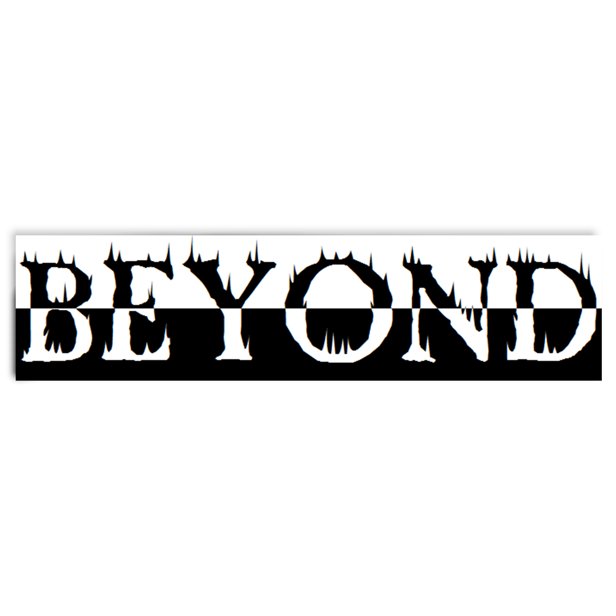 BEYOND HOT FIRE STICKER
