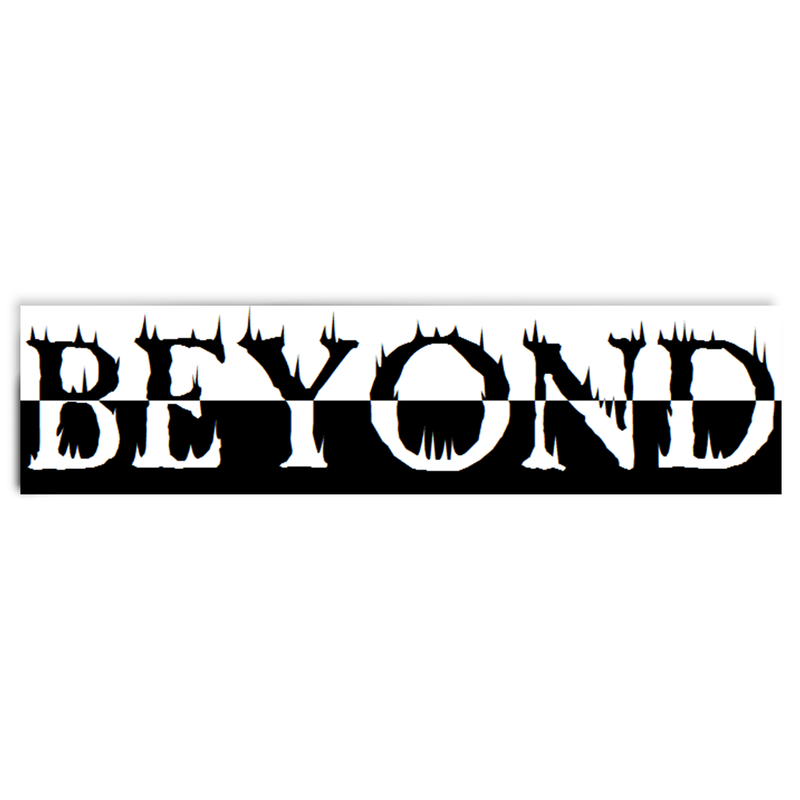 Beyond Hot Fire Sticker Product Photo