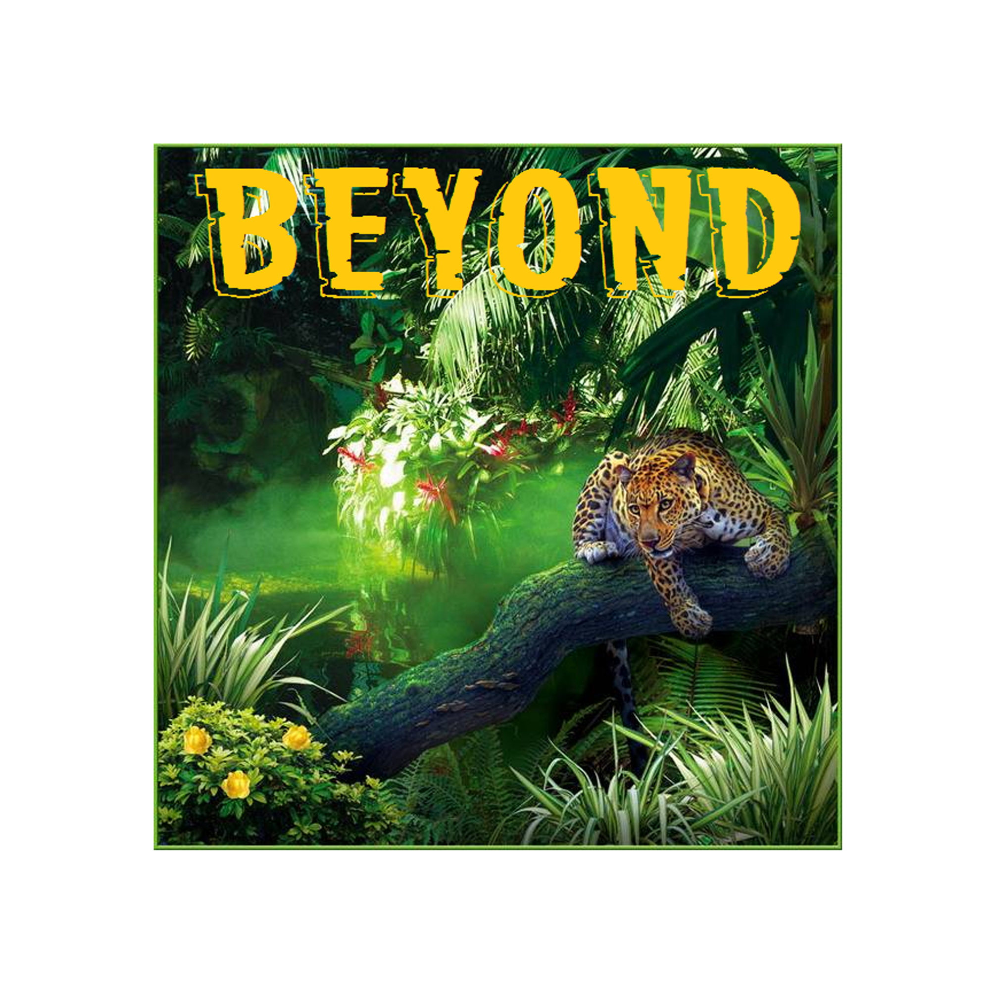 BEYOND JUNGLE STICKER
