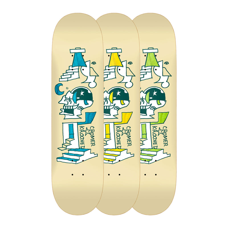 Krooked Half Moon Brad Cromer Deck Product Photo