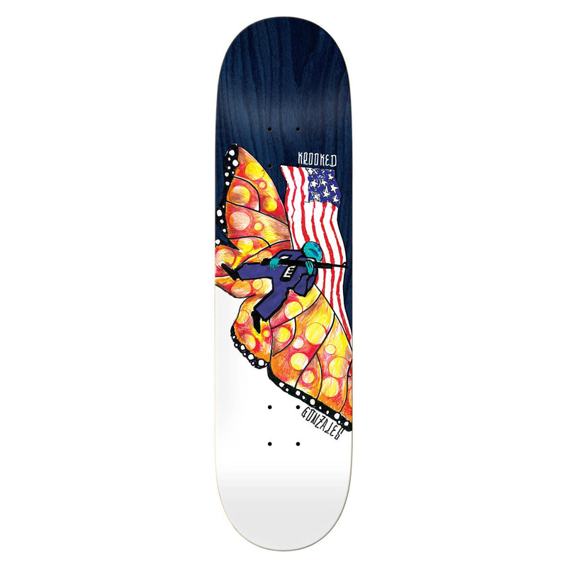 Krooked Don't Tred Gonz Deck - 8.75 Product Photo