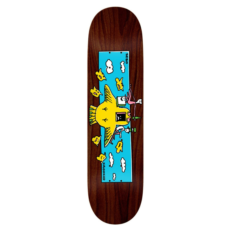 Krooked Sebo Hi Flyer Deck - 8.38 Product Photo