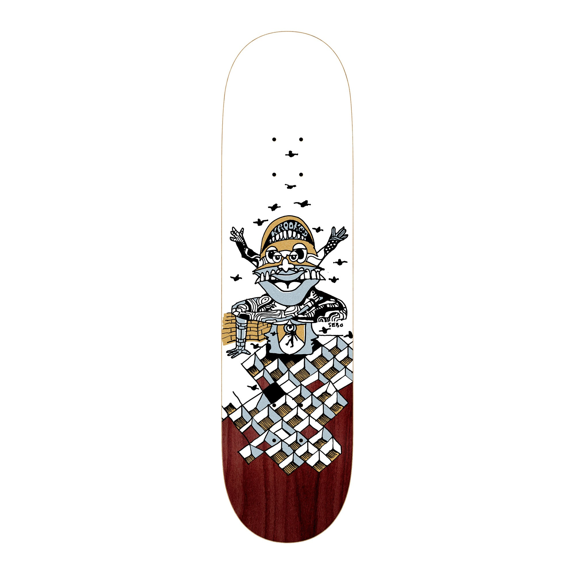 Krooked Puppet Sebo Deck Product Photo #1