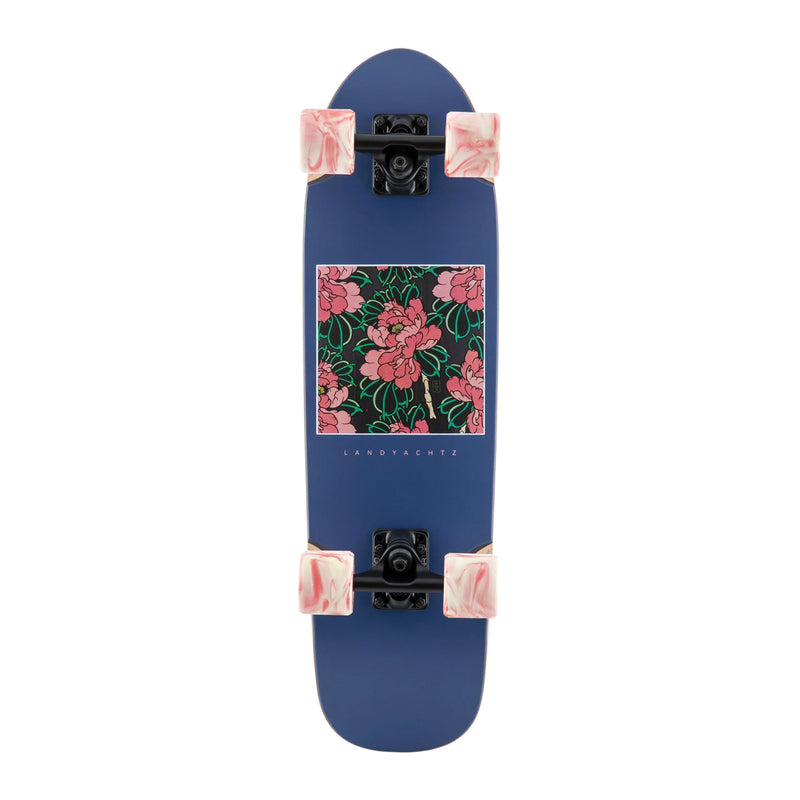Landyachtz Dinghy Classic Hibiscus Complete Product Photo