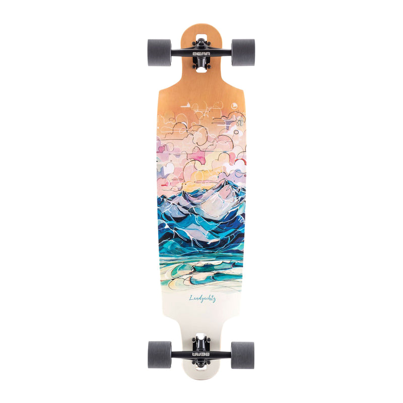 Landyachtz Drop Cat 38 Seeker Vibes Complete Product Photo