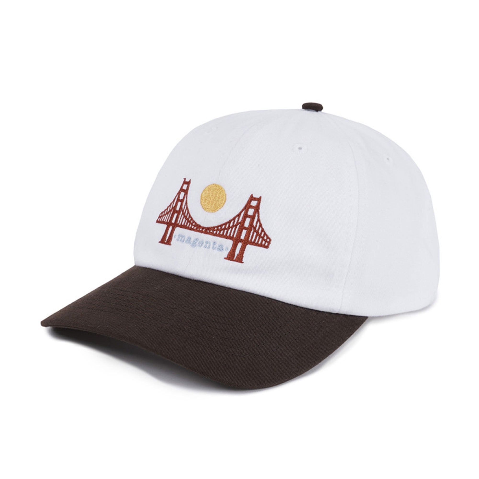 Magenta SF Adjustable Dad Cap Product Photo #1