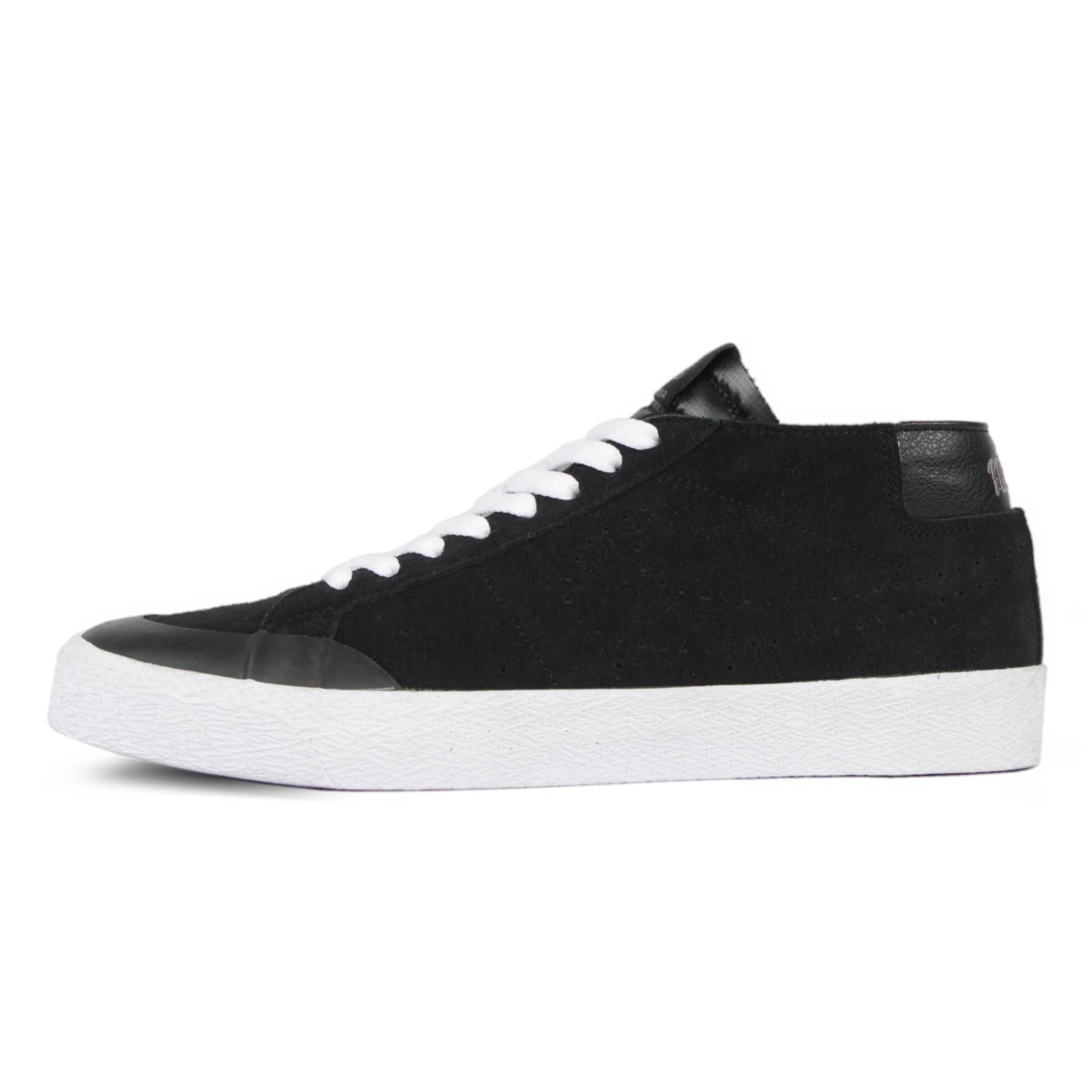 100% authentic f34e5 293c7 NIKE SB BLAZER CHUKKA XT BLACK / BLACK / WHITE