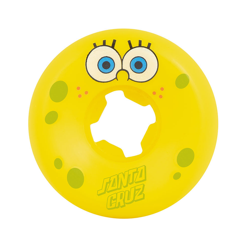 Santa Cruz Sponge Bob Wheels Yellow - 53mm Product Photo