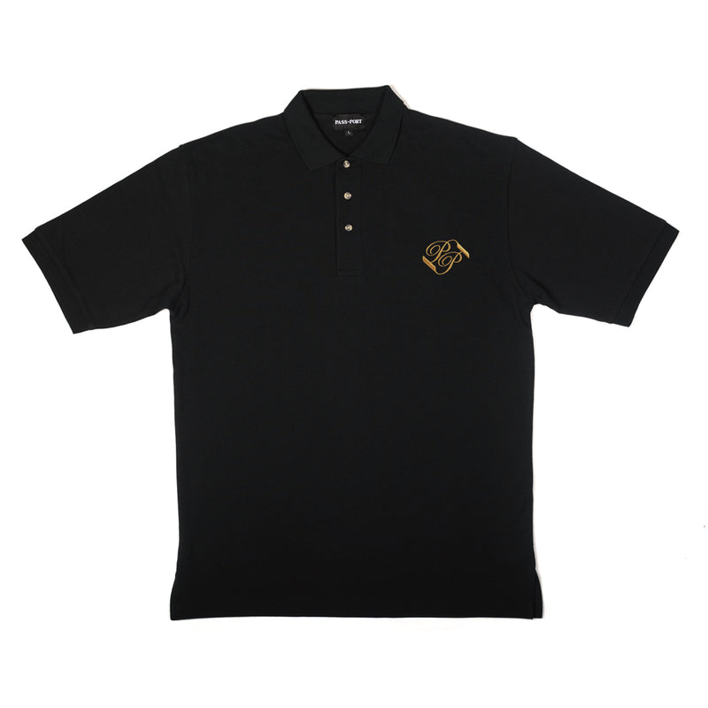 Passport Banner Embroidered Polo Product Photo