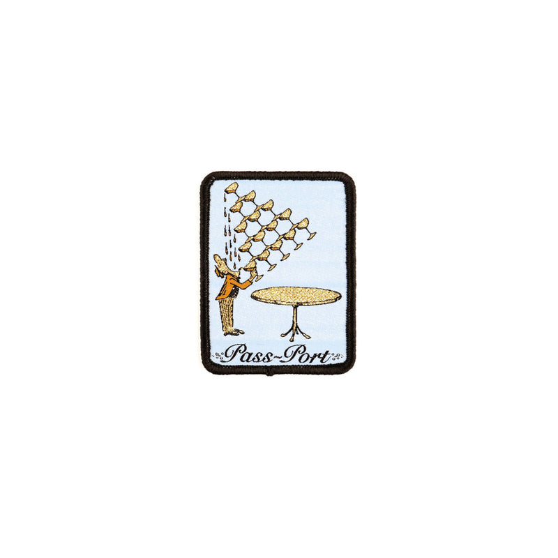 Passport Champers Patch Product Photo