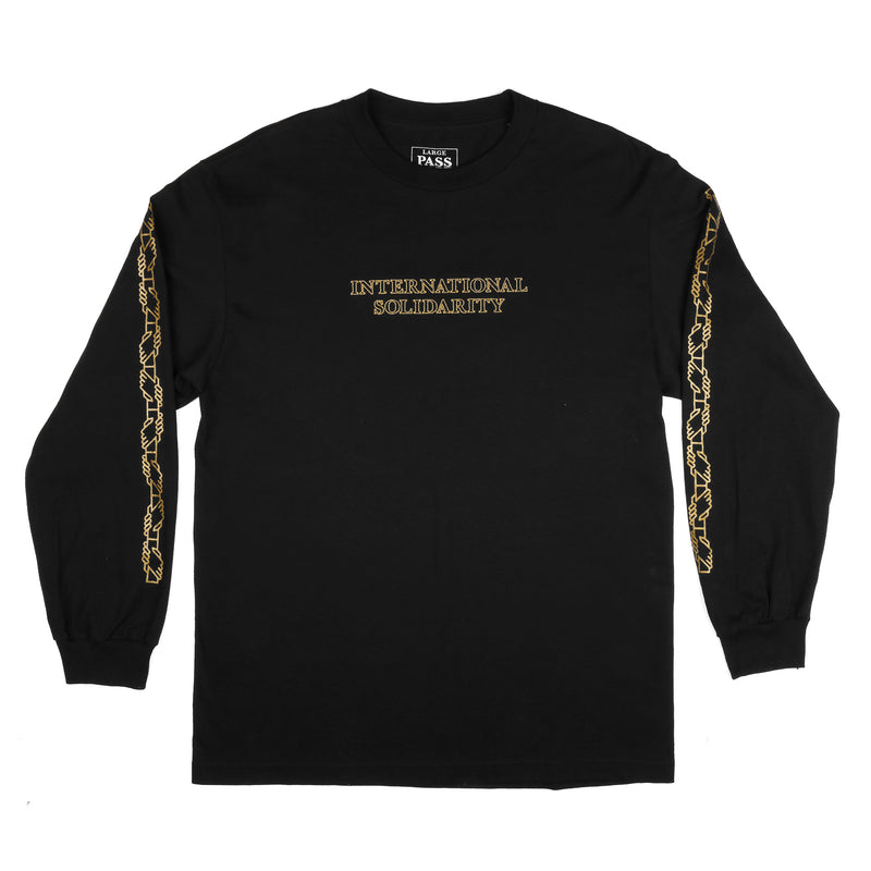 Passport Inter Solid L/S Tee Product Photo